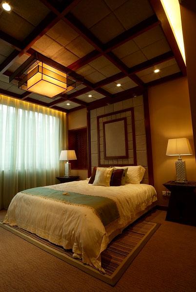 東南亞風格經典臥室設計效果圖片