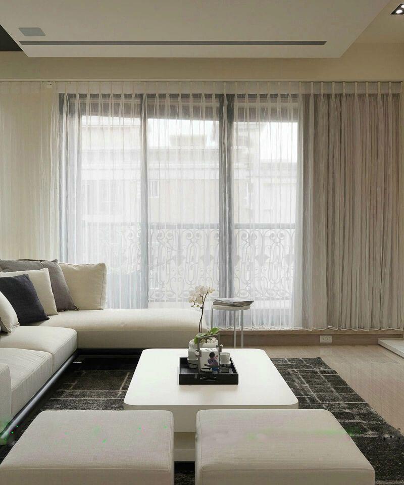 10萬精造104平現代簡約三居室內設計效果圖