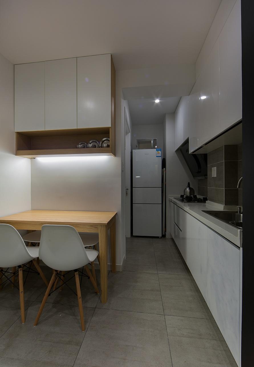 40平简约宜家风一居室小户型装修效果图