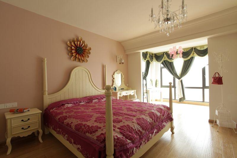 自然溫馨田園風格臥室設計裝飾效果圖片
