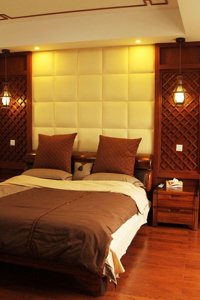 亦古亦今新中式風格設計臥室裝飾效果圖