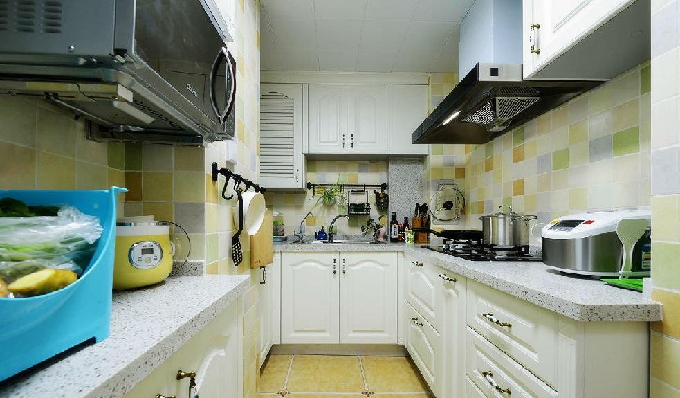 地中海马赛克厨房装修效果图