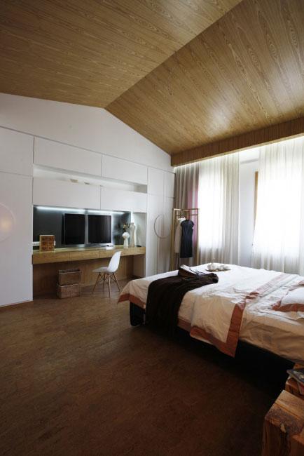 簡單三居室日式風格家裝效果圖